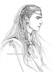 Elu Thingol by evankart