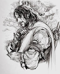 Boromir's arm guards by evankart