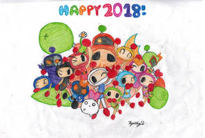 2018 redraw by explodingalien123