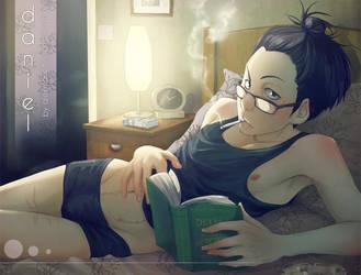 book reading by alexzappa