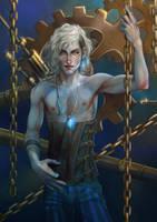 Constantine - the edge of steam. by alexzappa