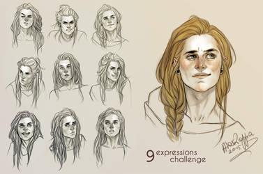 Simone 9 expressions by alexzappa