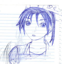 Sketch: Natsumi try by RafagdGoku