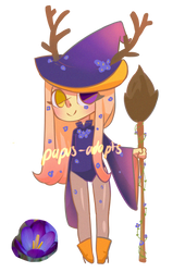 Halloween adopt 6 - Set price [OPEN] by Papus-Adopts