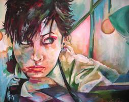 Dreams: Self-portrait by lilbit075