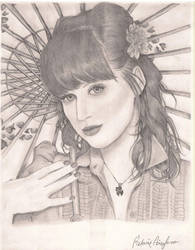 Katy Perry Portrait. by Melanie02