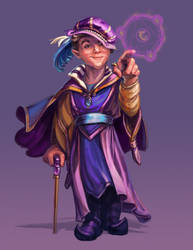 Gnome Wizard by thegryph