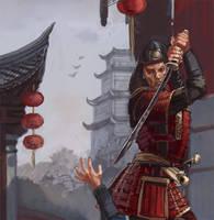 Samurai WIP by thegryph