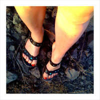 summer sandals by unityofmulti