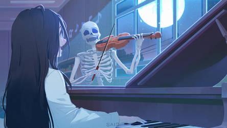 Night School Melody by Sayta0