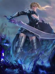 Fighting The Dark by Sayta0
