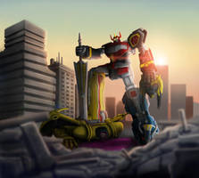 Megazord by nowis-337