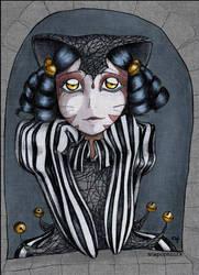 Harlequin in stripes by -pi-