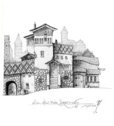 High Tower Street - West by SirInkman