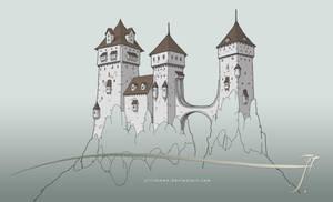 New castle [wip] by SirInkman