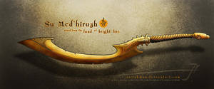 Su Med'hiruzh sword by SirInkman