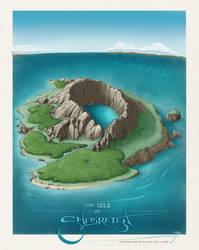 The Isle of Shab'ra'tan by SirInkman
