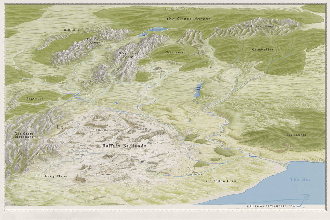 ESB Overview Map by SirInkman
