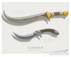 JS daggers set 01 by SirInkman
