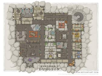 Wizards Academy - Windjina's Dungeon by SirInkman