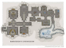 Wizards Academy - Barodens Dungeon by SirInkman