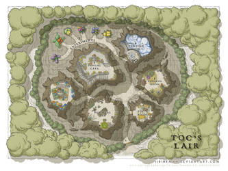 Wizards Academy - Toc's Lair by SirInkman