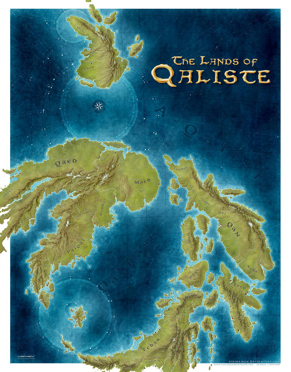 Lands of Qaliste [stage1] by sirinkman by SirInkman