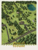 Powell House by SirInkman