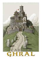 Castle Ghral by SirInkman