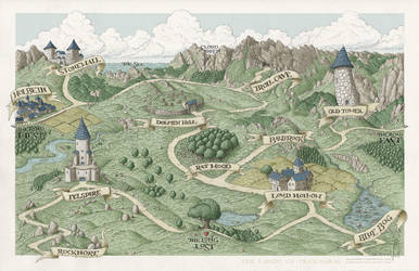 The Lands of Trolnarm by SirInkman