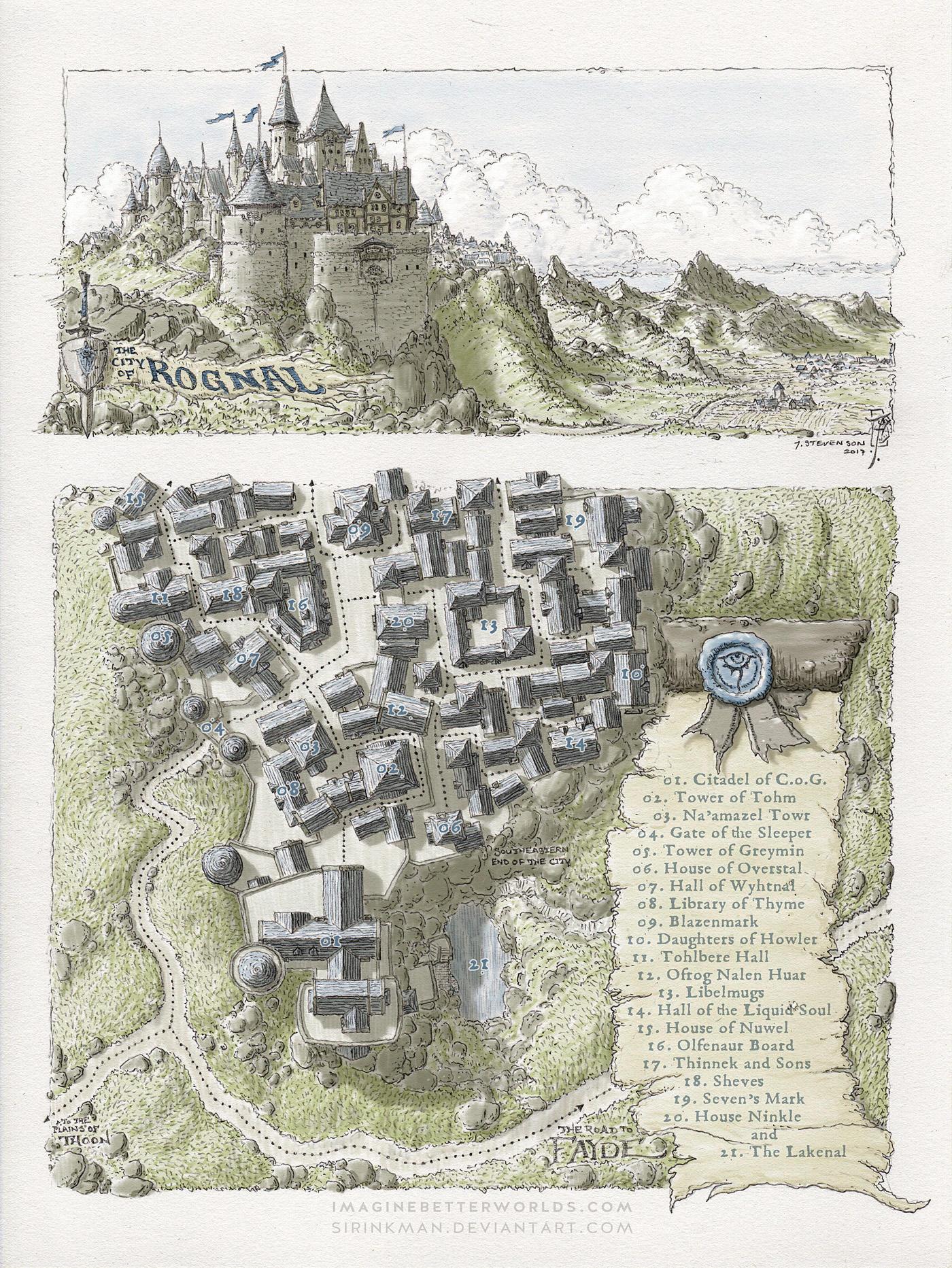 City of Rognal by SirInkman