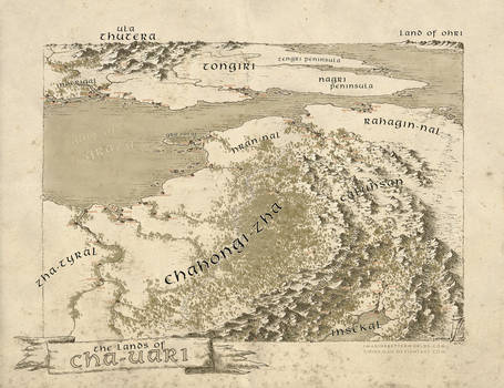 The Lands of Cha-uari by SirInkman