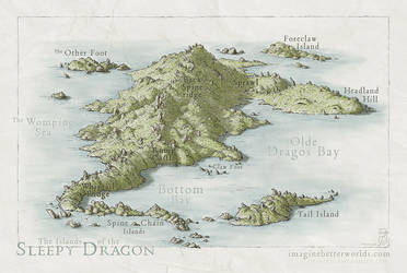 Islands of the Sleepy Dragon by SirInkman