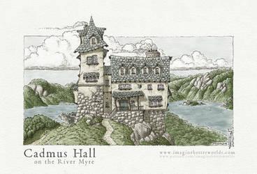Cadmus Hall by SirInkman