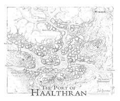 Port of Haalthran by SirInkman