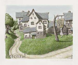 Village of Berenzal by SirInkman
