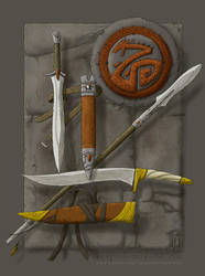 Rehd Dragon's Hoard by SirInkman