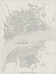 River city of Karkwald by SirInkman