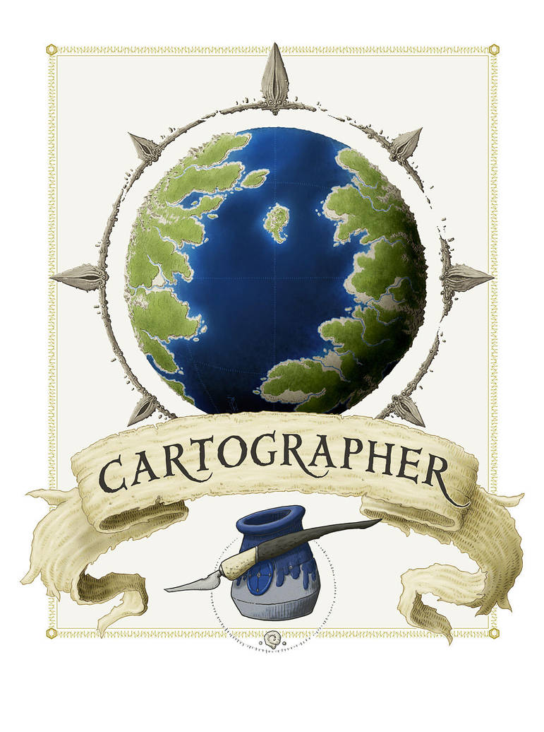 Cartographer by SirInkman