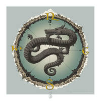 Dragon Compass by SirInkman