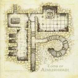 Tomb of Aznurhradi by SirInkman