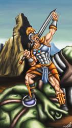 the giant slayer by tusardas