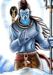 A follower of Shiva by tusardas