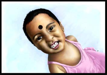 little girl....... by tusardas