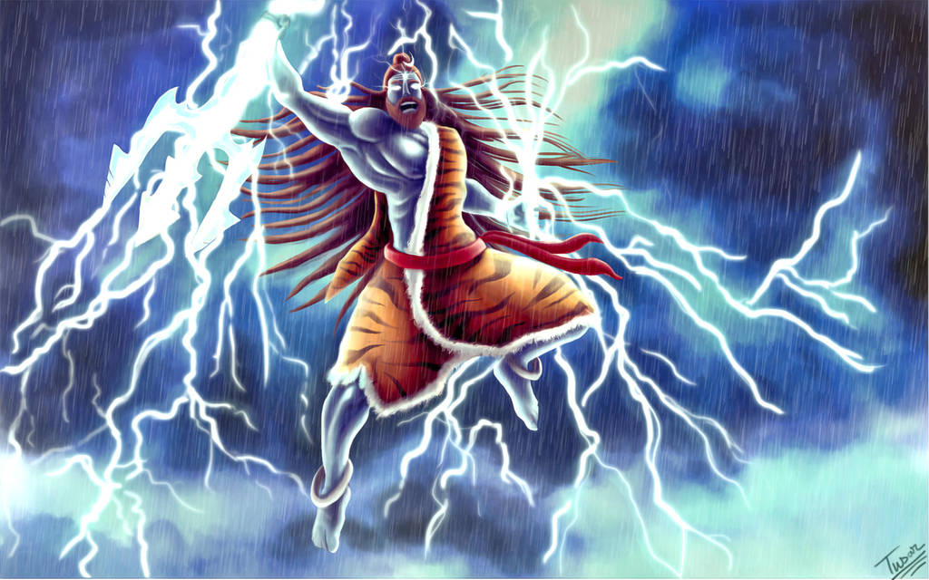 Lord Rudra by tusardas