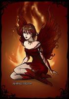 Fire fairy by o0oO-araceli-Oo0o