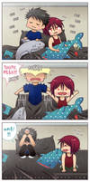 ++Samezuka Shark Week: Boo Boos+ by hissorihaka