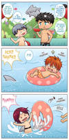 ++Samezuka Shark Week: Shark Attack+ by hissorihaka