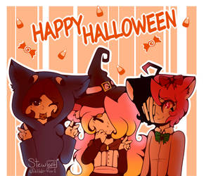 Happy Halloween!!! by Delilah-Rose1