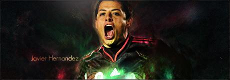 Javier Hernandez Sign by Kazam50
